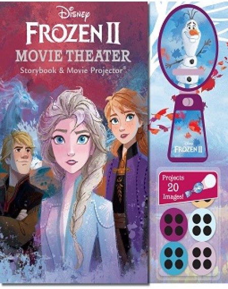 Disney Frozen 2 Movie Theater Storybook and Movie Projector