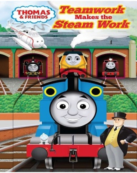 Board Book Thomas & Friends: Teamwork Makes the Steam Work