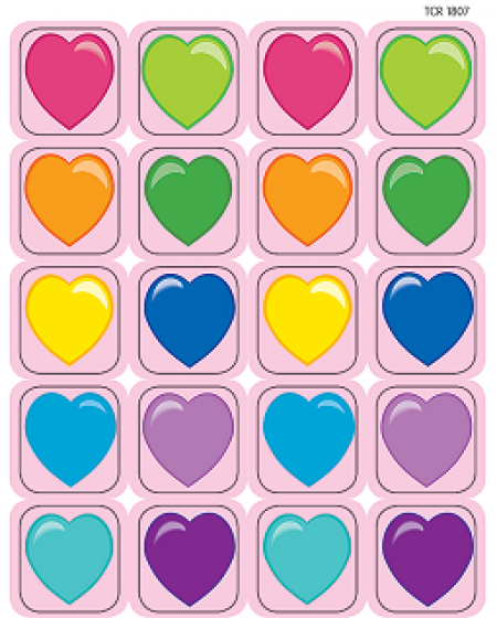 Stickers : Hearts