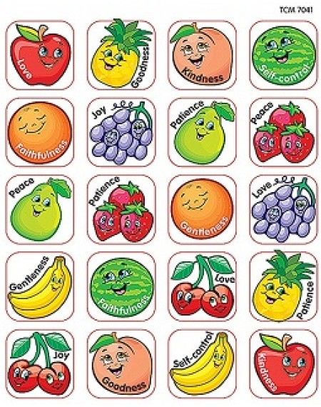 Stickers : Fruit Of The Spirit Stickers