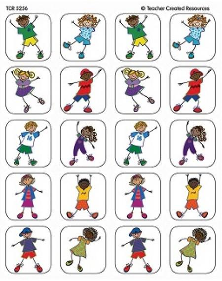 Stickers : Fantastic Kids