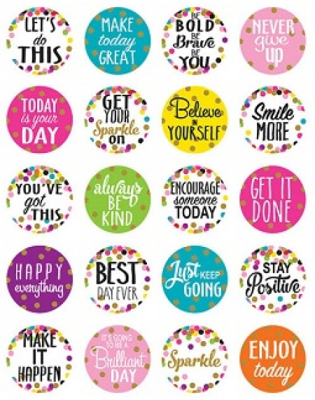 Stickers : Confetti Words To Inspire Planner Stickers