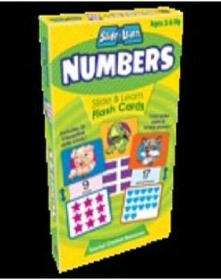 Flash Cards : Numbers Slide & Learn