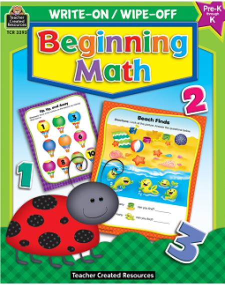 Write-On/Wipe-Off: Beginning Math