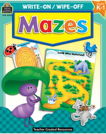 Write-On/Wipe-Off: Mazes