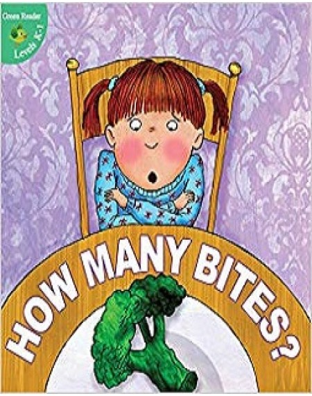 Little Birdie Green Readers : How Many Bites?