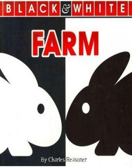 Black and White Board Book : Farm