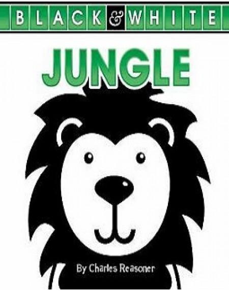 Black and White Board Book : Jungle