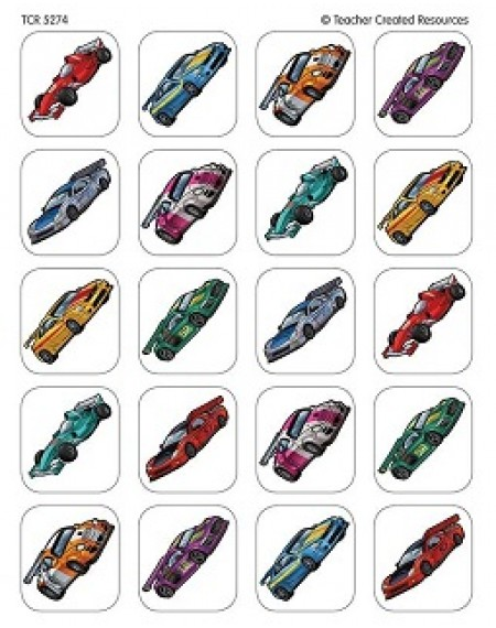 Stickers : Race Cars