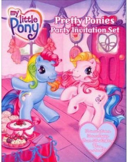 My Little Pony : Party Invitation Set