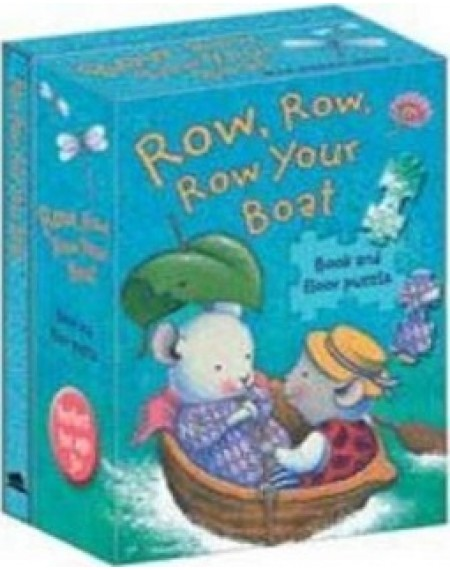 Book and Jigsaw Puzzle Row Row Your Boat Trace Moroney