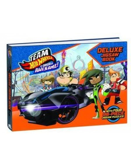 Hot Wheels Deluxe Jigsaw Puzzle