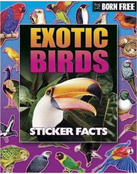 Born Free Sticker Book : Exotic Birds
