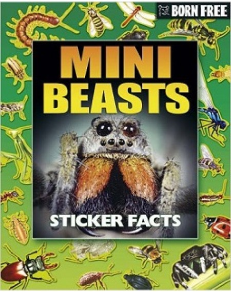 Born Free Sticker Book : Mini Beasts