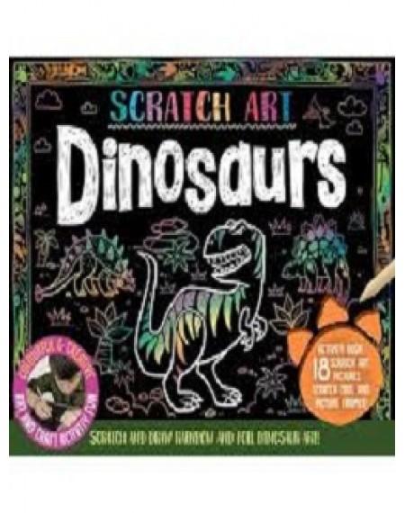 Activity Gift Box : Scratch Art Dinosaurs