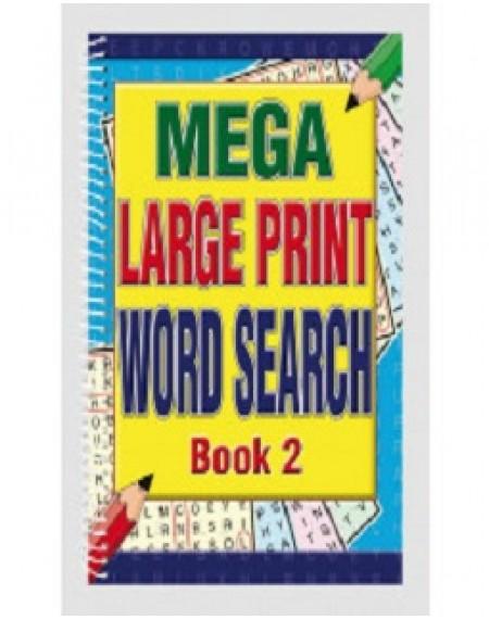 Mega Large Print Word Search